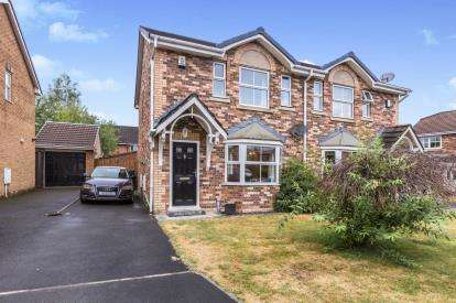 3 Bedrooms Semi Detached House for sale in Farington Gate, Leyland, .