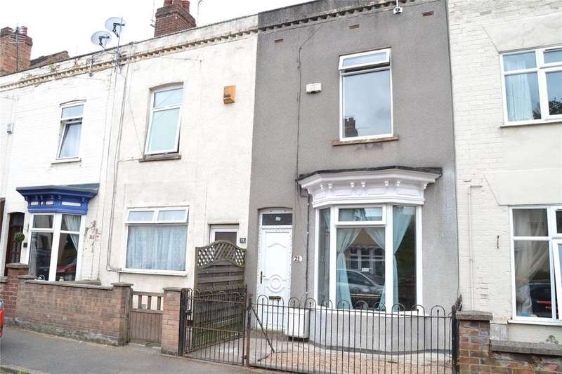 3 Bedrooms Terraced House for sale in Darwin Street, Gainsborough, DN21