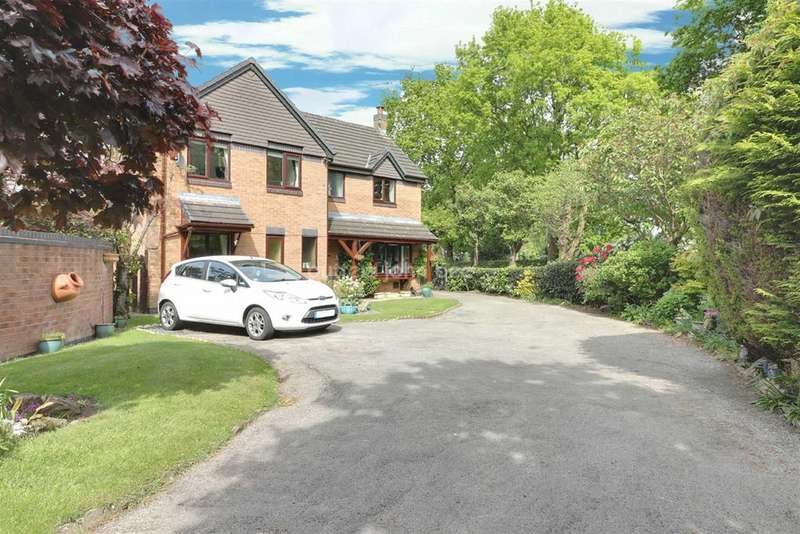 4 Bedrooms Detached House for sale in Bowkers Croft, Winterley
