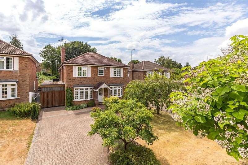5 Bedrooms Detached House for sale in Burton Close, Wheathampstead, St. Albans, Hertfordshire