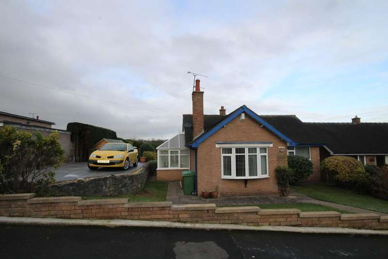 2 Bedrooms Detached Bungalow for sale in Carlson Drive, Wrexham