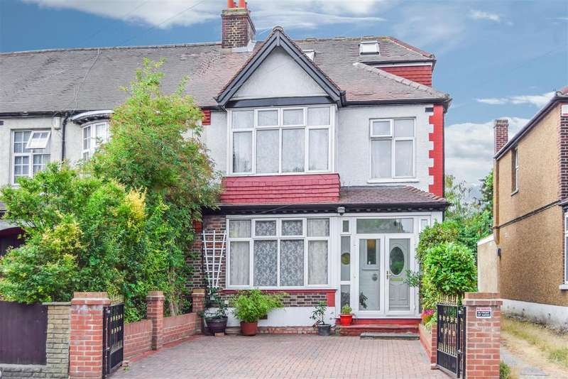 4 Bedrooms End Of Terrace House for sale in Martin Way, Morden