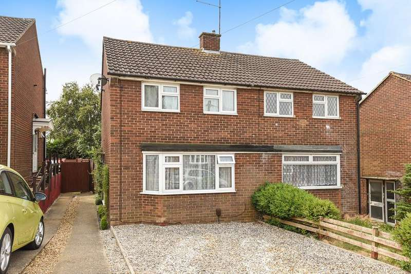 2 Bedrooms Semi Detached House for sale in Vicarage Hill, Flitwick, MK45
