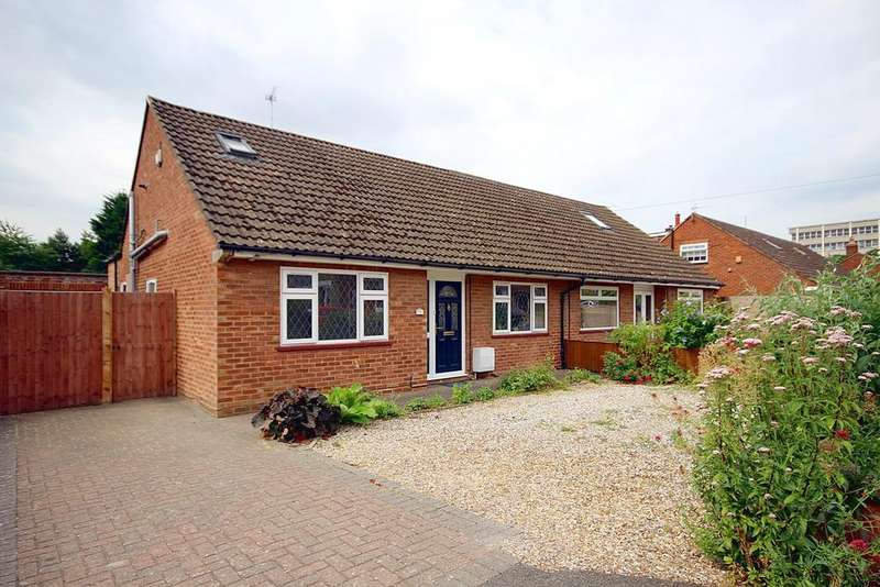 3 Bedrooms Semi Detached Bungalow for sale in London Row, Arlesey, SG15