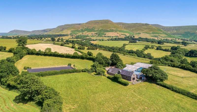 4 Bedrooms Equestrian Facility Character Property for sale in Nr Talgarth, Brecon, Powys, LD3