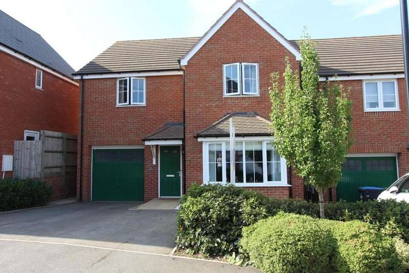 4 Bedrooms Detached House for sale in Cypress Road, Rugby