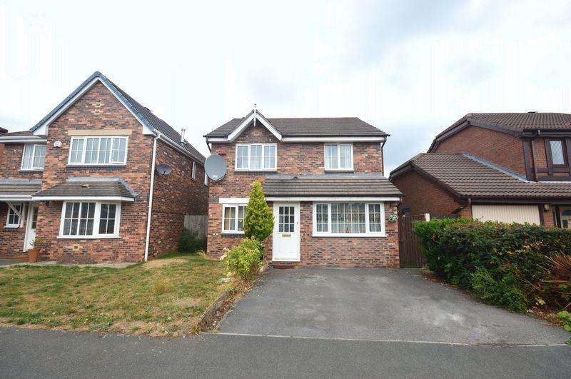 4 Bedrooms Detached House for sale in Hever Drive, Halewood