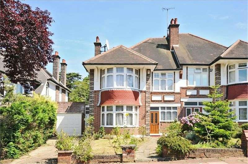 4 Bedrooms Semi Detached House for sale in Beech Drive, East Finchley, London