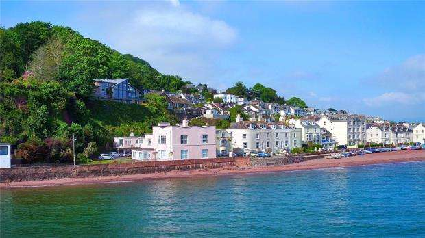 3 Bedrooms Flat for sale in Marine Parade, Shaldon, Devon