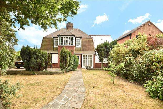 3 Bedrooms Detached House for sale in Sweetcroft Lane, Hillingdon, Middx