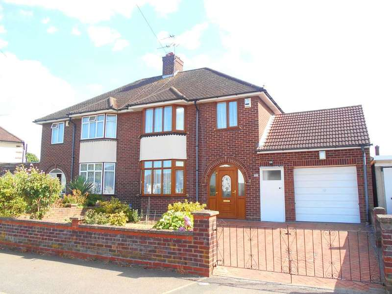 3 Bedrooms Semi Detached House for sale in Harewood Road, Bedford, Bedfordshire, MK42 9TH