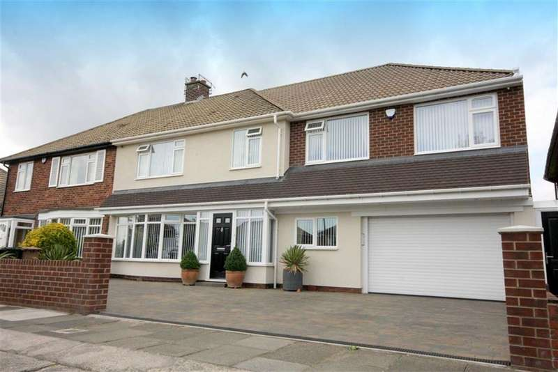 5 Bedrooms Semi Detached House for sale in The Broadway, Tynemouth, Tyne And Wear, NE30