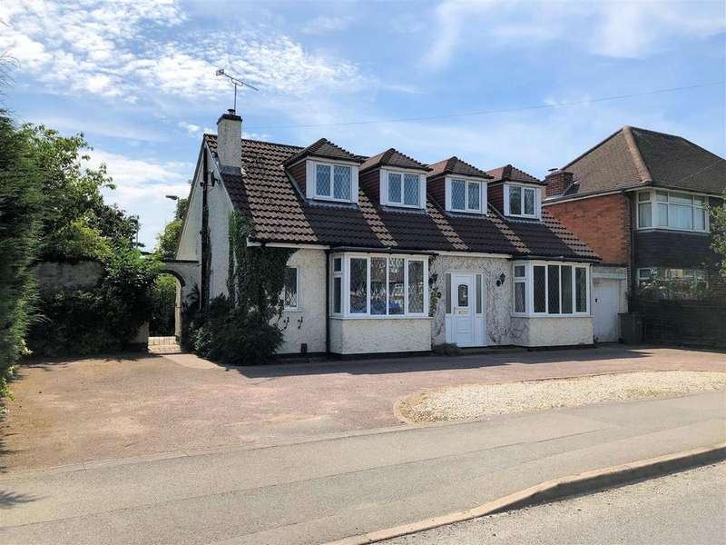 3 Bedrooms Detached Bungalow for sale in Harborough Road, Oadby