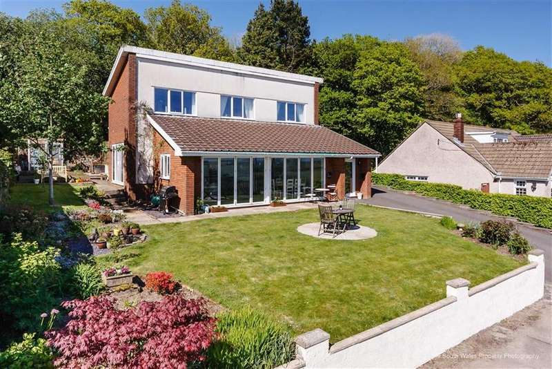 4 Bedrooms Detached House for sale in Erw Hir, Llantrisant, Rhondda Cynon Taff