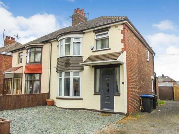 3 Bedrooms Semi Detached House for sale in Ormesby Road, Middlesbrough, North Yorkshire