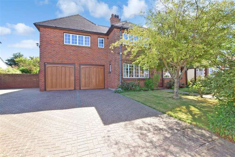 4 Bedrooms Detached House for sale in Mickleburgh Avenue, , Herne Bay, Kent