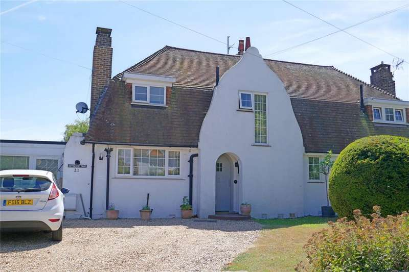 3 Bedrooms Semi Detached House for sale in Wannock Lane, Eastbourne, East Sussex, BN20