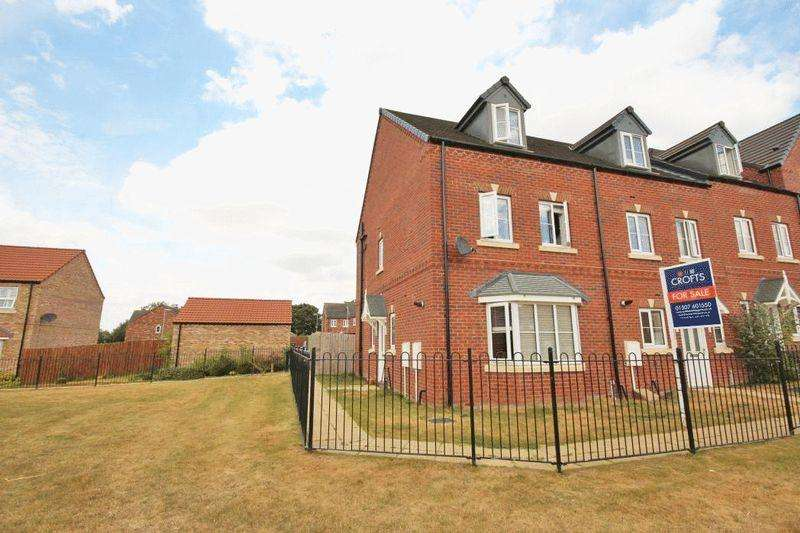 4 Bedrooms End Of Terrace House for sale in MARRIS WAY, CAISTOR