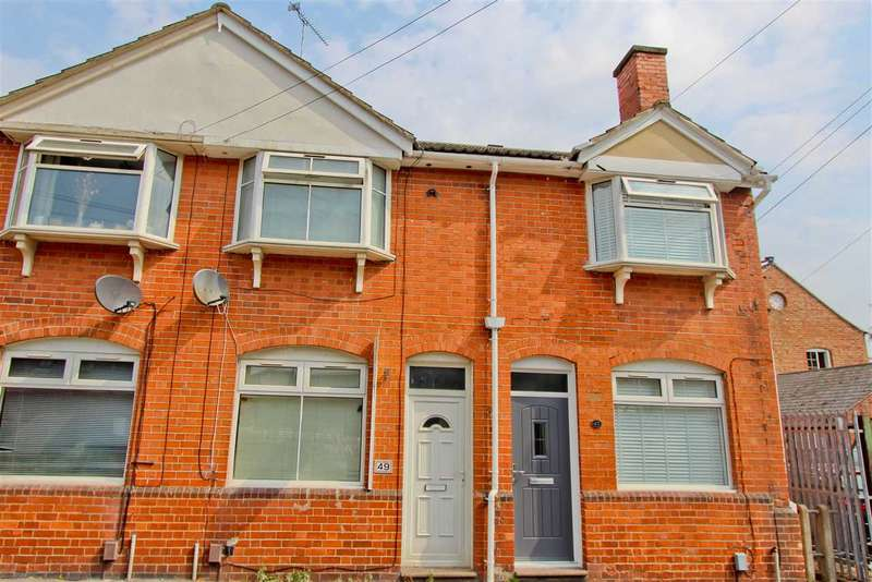 2 Bedrooms Terraced House for sale in Church Lane, Anstey, Leicester