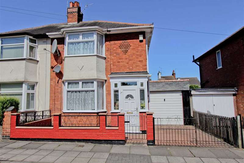 2 Bedrooms Semi Detached House for sale in Montrose Road, Aylestone, Leicester