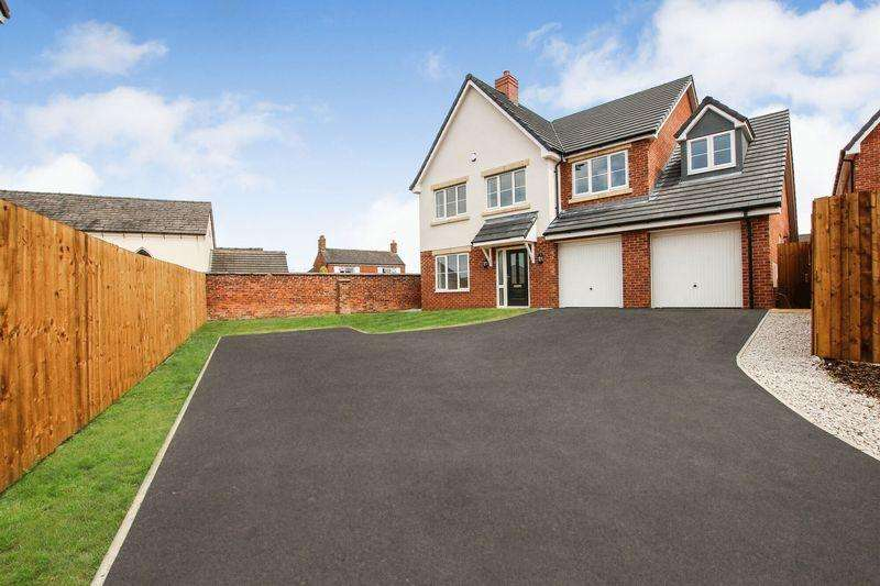 4 Bedrooms Detached House for sale in Plot 8, The Croft, Haslington