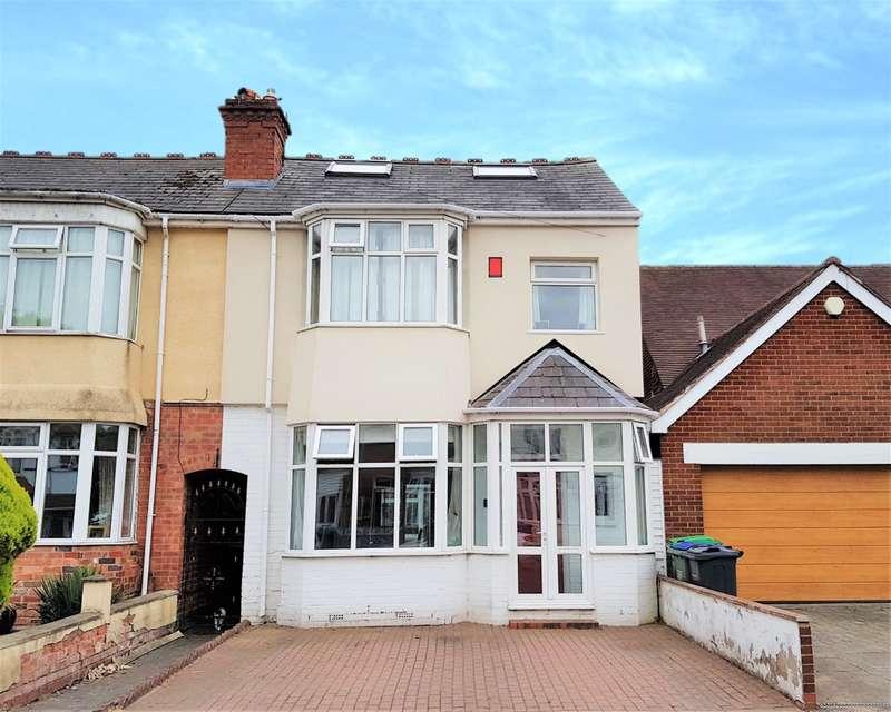 4 Bedrooms End Of Terrace House for sale in Devon Road, Smethwick, West Midlands, B67 5EL