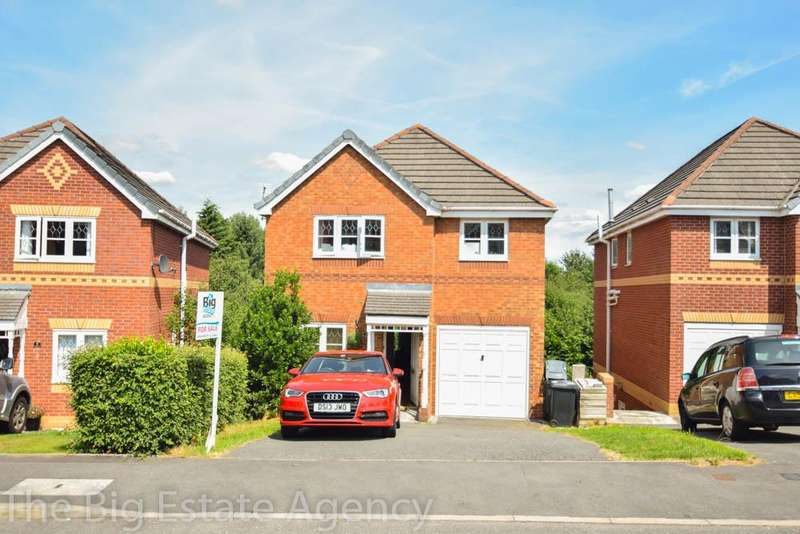 4 Bedrooms Detached House for sale in Ffordd Kinderley, Connah's Quay, Deeside, CH5