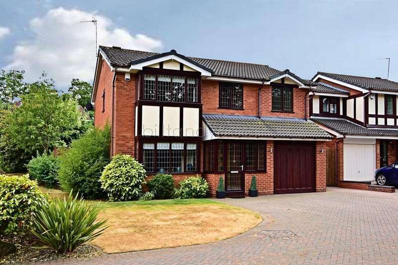 5 Bedrooms Detached House for sale in Boulton Close, Burntwood, WS7