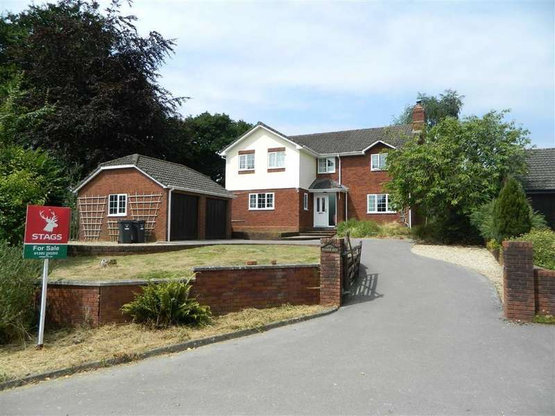 4 Bedrooms Detached House for sale in Farthings Rise, Plymtree, Cullompton, Devon, EX15