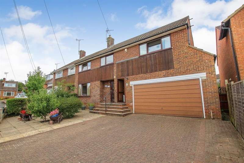 4 Bedrooms Semi Detached House for sale in Sheepcote Crescent, Heath and Reach, Leighton Buzzard, LU7 0AJ
