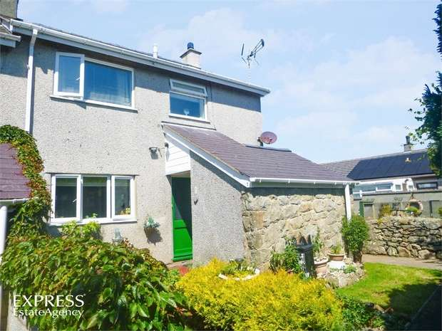 3 Bedrooms Semi Detached House for sale in Penysarn, Penysarn, Anglesey