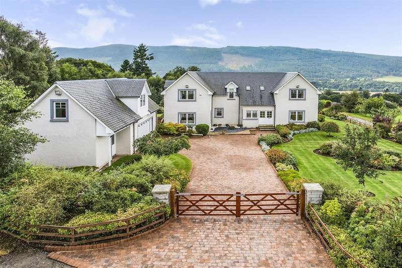 5 Bedrooms Detached House for sale in Strathlene, Croftinloan, Pitlochry