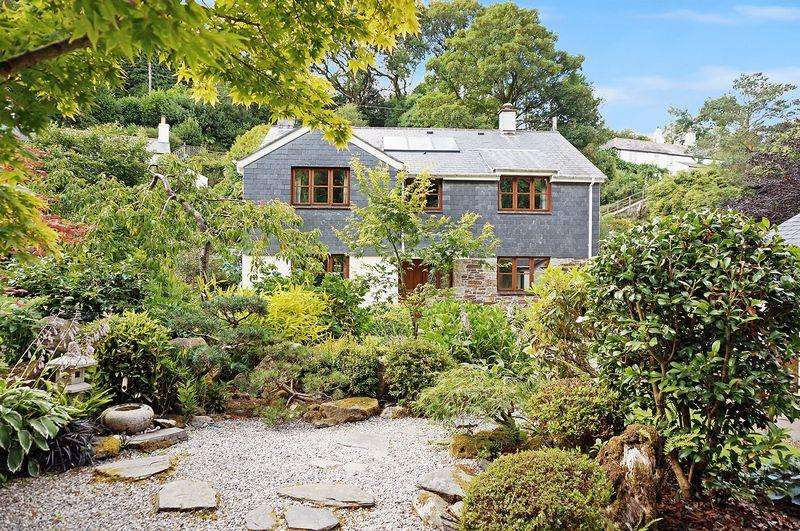 4 Bedrooms Detached House for sale in Rilla Mill, Cornwall