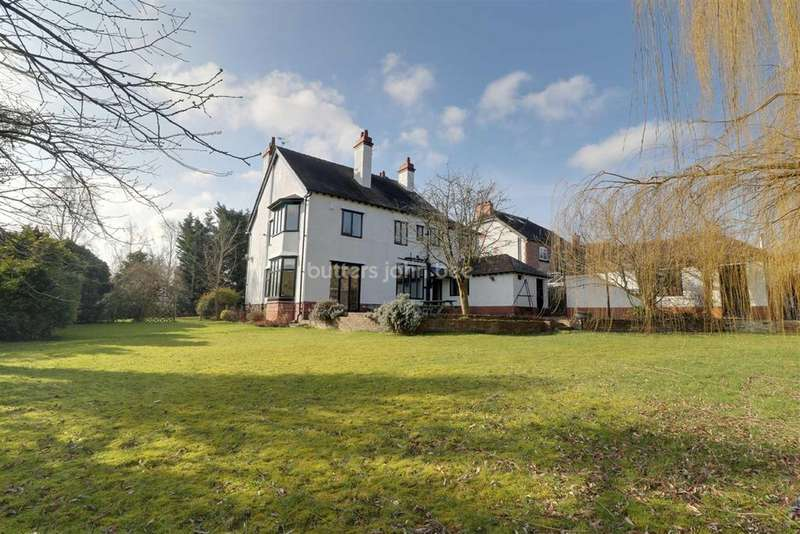 4 Bedrooms Detached House for sale in Manor Avenue, Crewe