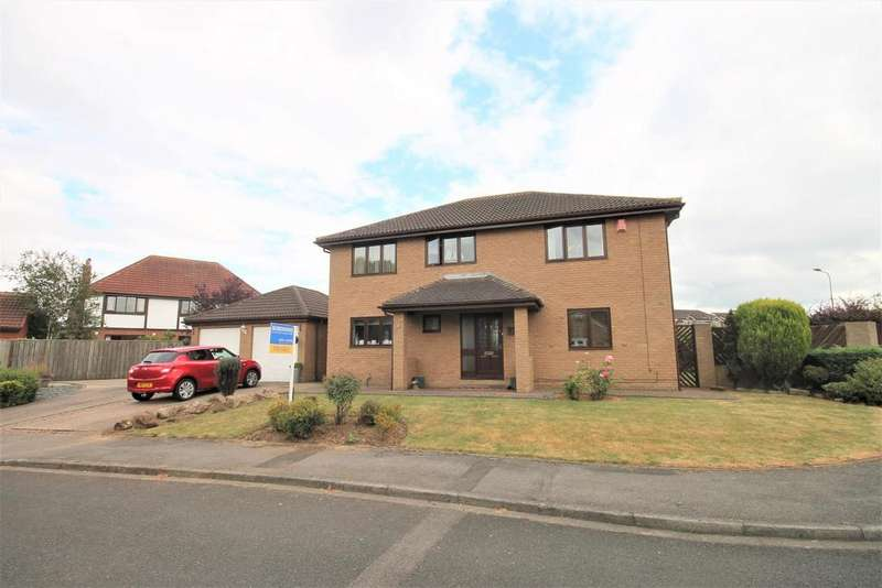 4 Bedrooms Detached House for sale in Rufford Close, Ingleby Barwick, Stockton-On-Tees