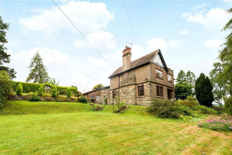 5 Bedrooms Detached House for sale in Ruthin Road, Bwlchgwyn, Wrexham, Clwyd, LL11