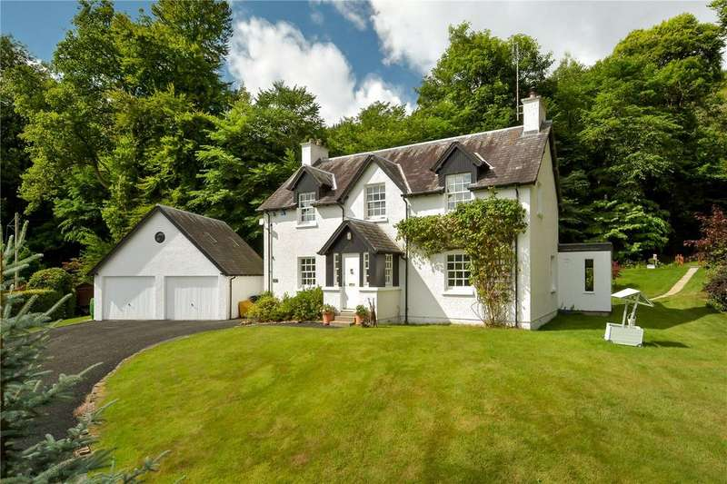 4 Bedrooms Detached House for sale in Bell Mount House, Dalguise, Dunkeld, Perthshire, PH8