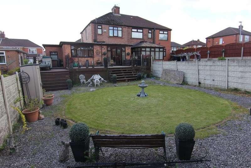 3 Bedrooms Semi Detached House for sale in Buckingham Road, Droylsden
