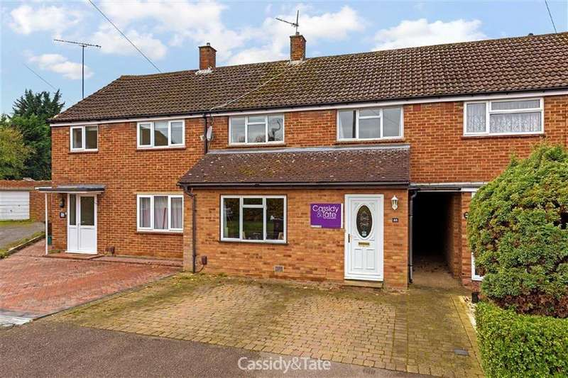 3 Bedrooms Terraced House for sale in Saxon Road, Wheathampstead, Hertfordshire