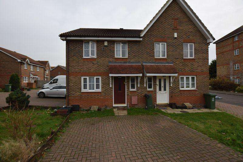 3 Bedrooms Semi Detached House for sale in Troon Close, North Thamesmead. SE28 8QG