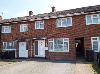 3 Bedrooms Terraced House for sale in Tithe Farm Road, Houghton Regis, Dunstable, Bedfordshire