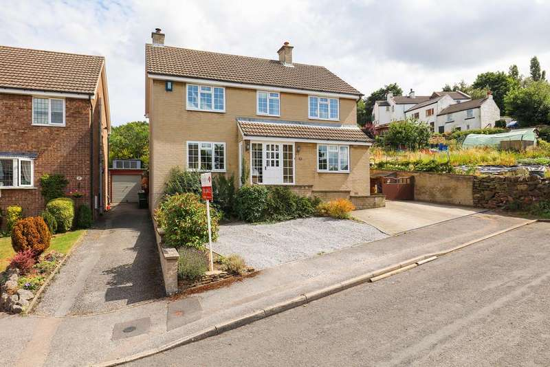 4 Bedrooms Detached House for sale in Valley Rise, Barlow, Dronfield