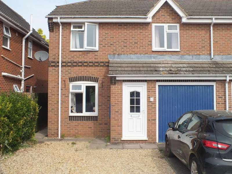 3 Bedrooms Semi Detached House for sale in Horsefayre Fields, Spalding