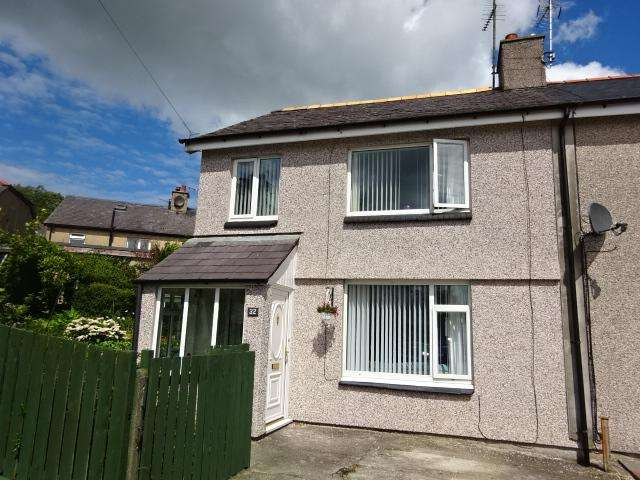 3 Bedrooms Semi Detached House for sale in AINON ROAD, BANGOR LL57