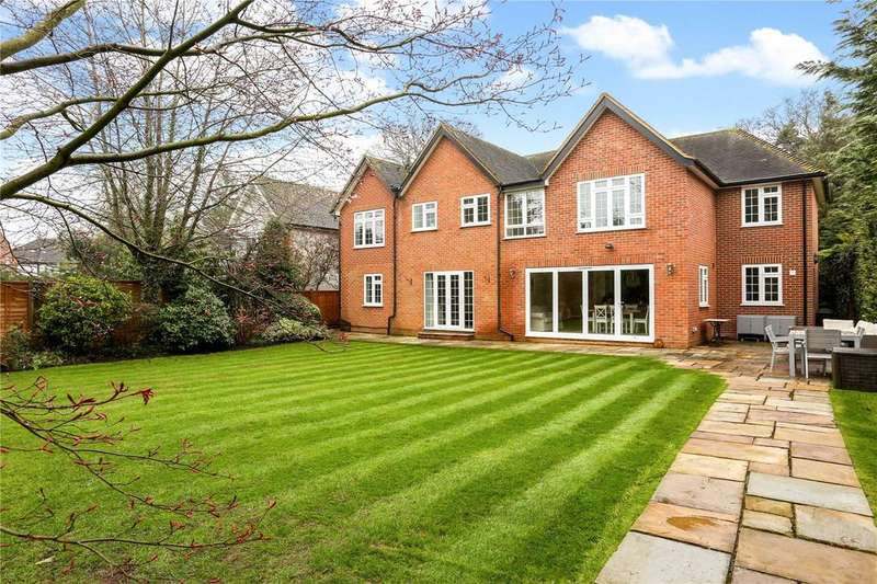 5 Bedrooms Detached House for sale in Fircroft, Bagshot Road, Englefield Green, Egham, TW20