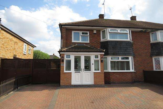 3 Bedrooms Semi Detached House for sale in Lonsdale Road, Thurmaston, Leicester, LE4