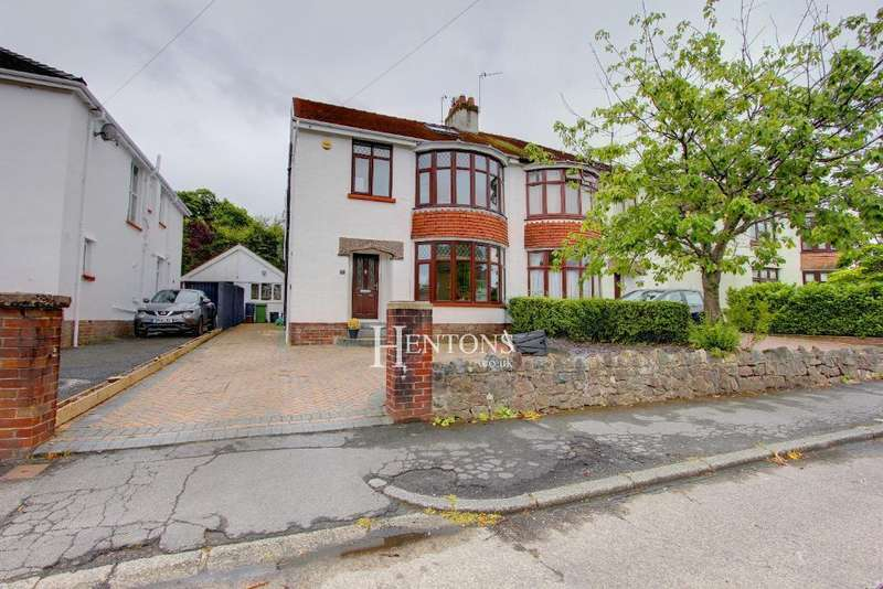 4 Bedrooms Semi Detached House for sale in Nant-Fawr Road, Cyncoed, Cardiff