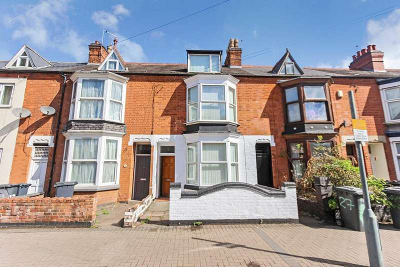4 Bedrooms Terraced House for sale in Upperton Road, LEICESTER, Leicester, LE3