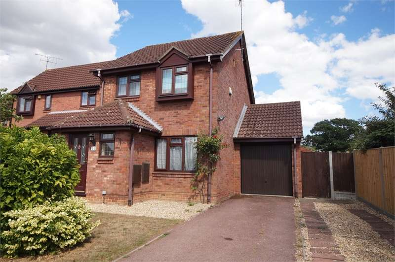 3 Bedrooms Detached House for sale in Tickhill Close, Lower Earley, READING, Berkshire