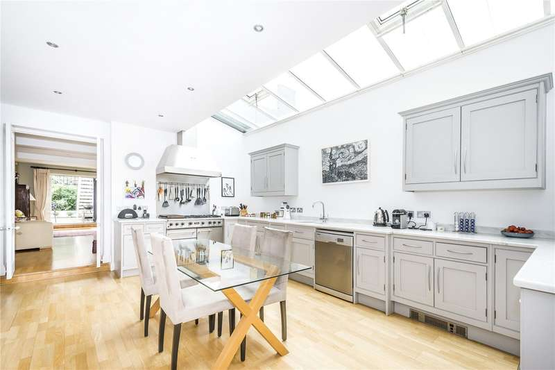 5 Bedrooms Semi Detached House for sale in Tritton Road, London, SE21